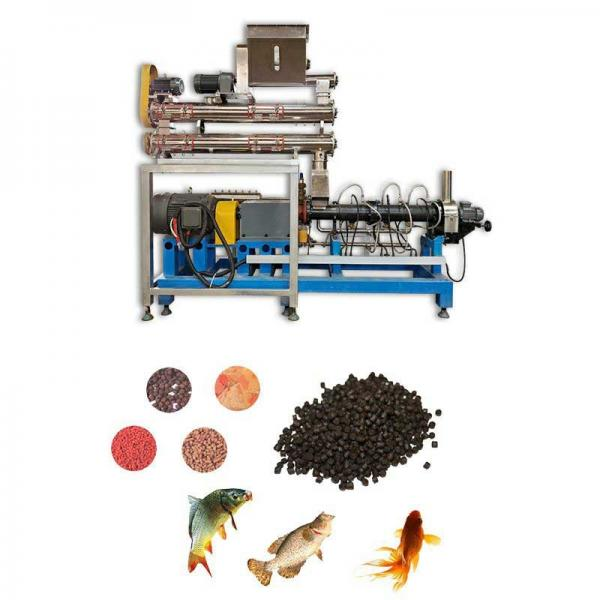 Small Capacity Chicken Feed Pellet Machine Fish Feed Extruder Price Soybean Puffing Machine for Animal Feed Making Plant