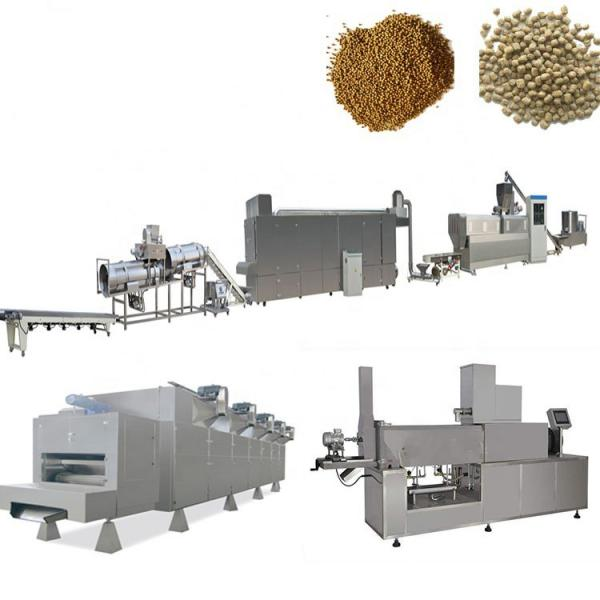 China factory supply dry pet dog pellet food processing extrude making machine for animal feed pellet